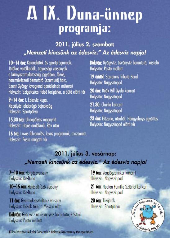 Duna ünnep 2011 Kisoroszi